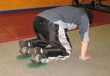 gliding disc core exercise combo 1