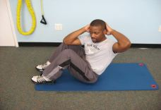 oblique sit ups