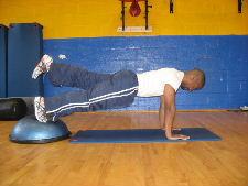 1 leg planks