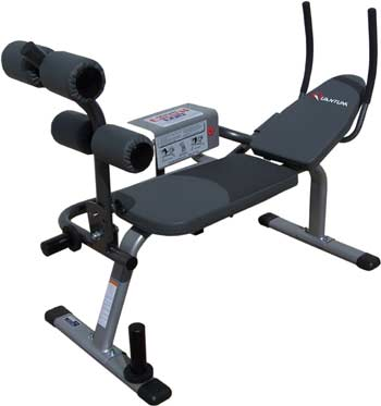 horizontal exercise machine