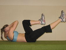 bicycle crunches ab exercises