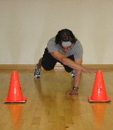 planks with cone touches
