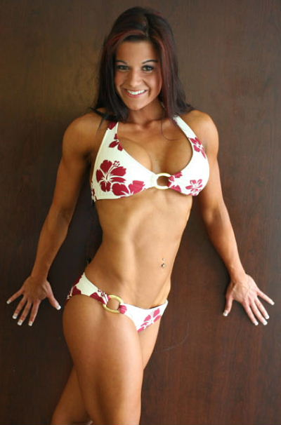 Diana Chaloux Fitness Model: Flat Stomach Pictures