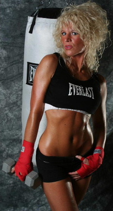 fitness model abs picture