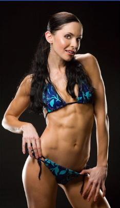 Audrey Dippenaar fitness model