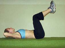 double crunche for lower abs