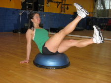 lower stomach flattening exercise