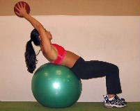 medicine ball abdominal exercises