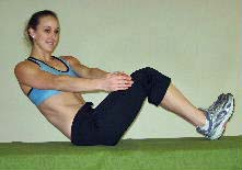 ab exercises russian twists