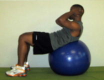 exercise ball ab exercises