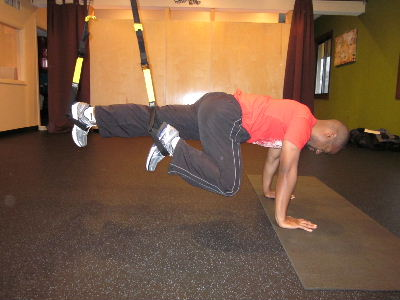 trx mountain climbers