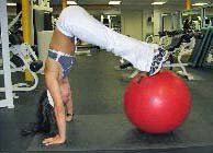 stability ball exercise for abs