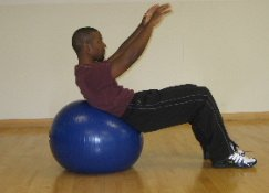 best core exercises with a medicine ball